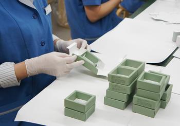 シアバターの製造過程
